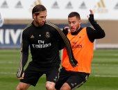 غياب فاران وكورتوا وبيل عن مران ريال مدريد قبل مواجهة مايوركا