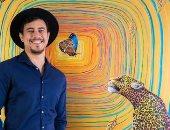 فنان كولومبى يشارك بجاليرى الزمالك بلمسات نوبية