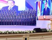 الرئيس السيسى يشهد حفل تخرج الدفعة الأولى بكلية الطب بالقوات المسلحة