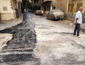 تنفيذ أعمال تطوير بشوارع بولاق الدكرور وترميم أخرى بالعمرانية