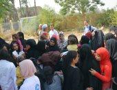 جامعة سوهاج تطلق قافلة مجمعة لقرية الخنانسة ضمن القرى الأكثر احتياجا
