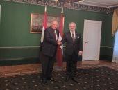 وزير الخارجية يؤكد لرئيس لاتفيا حرص مصر على تطوير العلاقات مع دول البلطيق