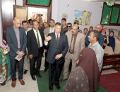 صور .. محافظ بنى سويف يتفقد سير المنظومة التعليمية بمركز اهناسيا