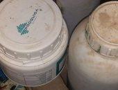 ضبط مركز تجميع وتصنيع ألبان وجبن بدون ترخيص جنوب بني سويف