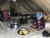 العدوان التركى يجبر 300 ألف سورى على الفرار وتحول المدارس لمأوى للنازحين