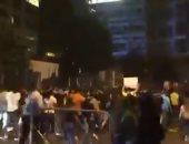 إطلاق نار وسط بيروت خلال تظاهرة احتجاجا على فرض ضرائب جديدة