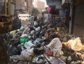 قارئ يشكو من انتشار القمامة بشارع التل بالوراق فى محافظة الجيزة