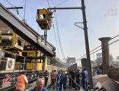 مترو الأنفاق: نعمل على سرعة إصلاح عطل الخط الأول لإعادة الحركة لطبيعتها