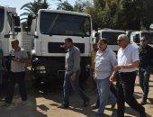 محافظ الجيزة يتابع أعمال تطوير شارع شهاب وطريق المريوطية