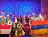 صور.. فرقة رضا تشارك فى الأسبوع الثقافى المصرى فى أرمينيا