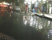 شكوى من غرق شارع عزبة النخل الشرقية بمياه الصرف الصحى
