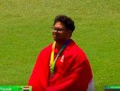عبدالرحمن حسام يفوز ببرونزية رمى الرمح ببطولة العالم فى أستراليا