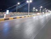 بنى سويف تتجمل.. إنارة طريق السحارة بكشافات الليد ضمن مبادرة تطوير الشوارع (صور)