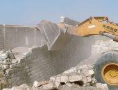صور.. التصدى لـ8 حالات بناء مخالف فى 4 أحياء بالإسكندرية