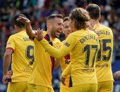 برشلونة يتقدم على إيبار 1-0 فى الشوط الأول.. فيديو