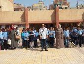 """""""تعليم الإسكندرية"""" بعد شائعة الالتهاب السحائى: انتظام الدراسة فى مدارس الفترتين"""