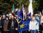 مسيرة بوسط العاصمة البريطانية للمطالبة بتحديد مصير البريكست
