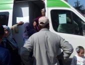 علاج 857 مواطنا خلال القافلة الطبية العلاجية بقرية الفتوح بفوه