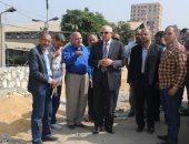 محافظ الجيزة يقرر وقف مسئولى نظافة بسبب تراكم القمامة بقطاع القومية العربية