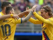 كل اهداف السبت.. فوز صعب ليوفنتوس واكتساح لبرشلونة وخسارة لريال مدريد