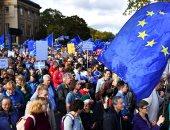 الآلاف يتظاهرون وسط لندن للمطالبة بتحديد مصير بريكست
