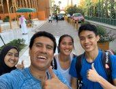 منتخب ماليزيا للاسكواش يستعد لبطولة العالم فى نادى الجزيرة
