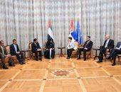 رئيسة وزراء صربيا تستقبل رئيسة المجلس الوطنى الاتحادى الإماراتى