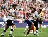 أتلتيكو مدريد يسقط فى فخ التعادل أمام فالنسيا بالدوري الإسباني.. فيديو