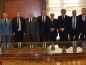 رئيس هيئة النيابة الإدارية يستقبل رئيس الوطنية للانتخابات.. صور