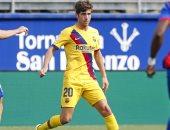 برشلونة يكشف عن حجم إصابة سيرجيو روبرتو