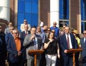 صور.. محافظ الإسكندرية: خط طيران مباشر مع قبرص 2020