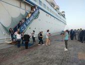 صور .. ميناء الإسكندرية: تسهيلات للأفواج السياحية القادمة للمحافظة