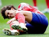 جواو فيليكس مهدد بالغياب 3 أسابيع عن أتلتيكو مدريد للإصابة