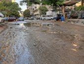 شكوى من غرق شارع عين شمس بمياه الصرف الصحى بمحافظة القاهرة