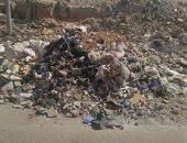 شكوى من وجود مقلب للقمامة بجوار سوق النيل الجديد بمدينة السلام