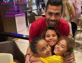 أحمد فتحى يحتفل بعيد ميلاد ابنته على إنستجرام