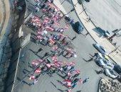 تواصل الاحتجاجات فى لبنان لليوم الرابع على التوالى