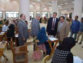 300 طالب بامتحانات الدور الثانى للدبلوم التربوية بجامعة سوهاج