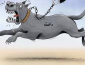 """كاريكاتير الصحف الإماراتية.. العدوان التركى يطلق العنان لـ""""داعش"""""""