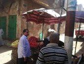 صور.. تحرير 32 محضر اشغالات ومرافق  بمراكز سوهاج