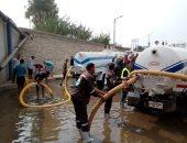 شركة مياه القليوبية تجرى محاكاة على أرض الواقع استعدادا لفصل الشتاء