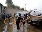 صور.. رئيس شركة مياه القليوبية يتابع استعدادت المحافظة لموسم سقوط الأمطار بطوخ وقها