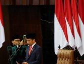 رئيس إندونيسيا يؤدى اليمين لفترة ولاية ثانية