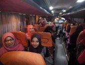 وصول الفوج السابع من رحلات البرنامج الرئاسى أهل مصر إلى الوادى الجديد