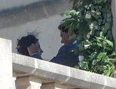 لقطات رومانسية مسربة من حفل زفاف نادال.. يلمس وجهها بحنان ويرتب شعرها