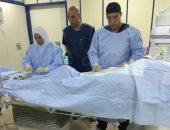 وحدة قسطرة القلب بالزقازيق تجرى 37 عملية للقضاء على قوائم الانتظار