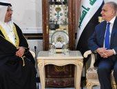وزير الخارجية العراقى يستقبل سفير مملكة البحرين فى بغداد