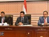 وزير الرياضة أمام البرلمان: تم رصد موازنة كبيرة لتطوير مراكز الشباب