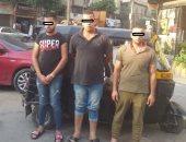 حبس أبطال فيديوهات تعاطى المخدرات أمام مدرسة الزيتون 4 أيام
