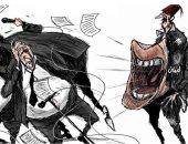 كاريكاتير الصحف السعودية.. استمرار مظاهرات لبنان